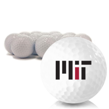 Blank MIT - Massachusetts Institute of Technology Golf Balls