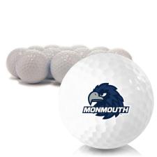 Blank Monmouth Hawks Golf Balls