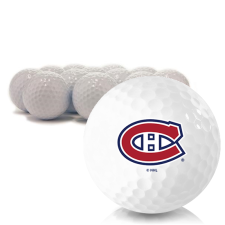 Blank Montreal Canadiens Golf Balls