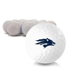 Blank Nevada Wolfpack Golf Balls