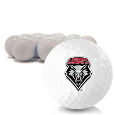 Blank New Mexico Lobos Golf Balls