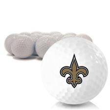 Blank New Orleans Saints Golf Balls