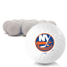 Blank New York Islanders Golf Balls