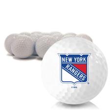 Blank New York Rangers Golf Balls