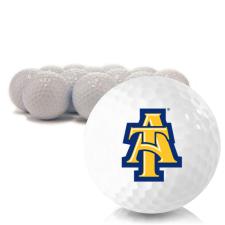 Blank North Carolina A&T Aggies Golf Balls