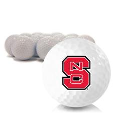 Blank North Carolina State Wolfpack Golf Balls