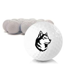 Blank Northeastern Huskies Golf Balls