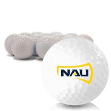 Blank Northern Arizona Lumberjacks Golf Balls