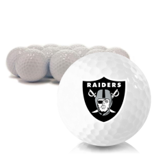 Blank Oakland Raiders Golf Balls