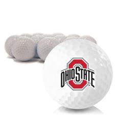 Blank Ohio State Buckeyes Golf Balls