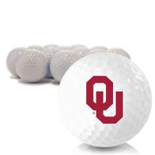 Blank Oklahoma Sooners Golf Balls