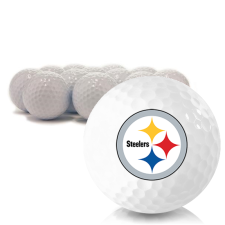 Blank Pittsburgh Steelers Golf Balls