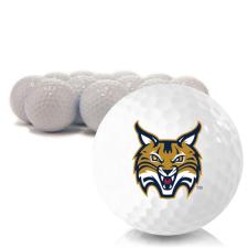 Blank Quinnipiac Bobcats Golf Balls