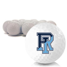 Blank Rhode Island Rams Golf Balls