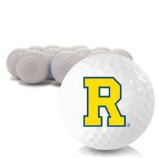 Blank Rochester Yellowjackets Golf Balls