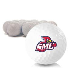 Blank Saint Mary's of Minnesota Cardinals Golf Balls
