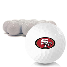 Blank San Francisco 49ers Golf Balls