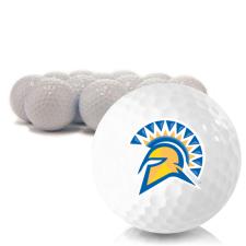 Blank San Jose State Spartans Golf Balls