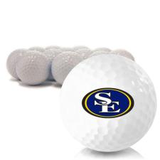 Blank Southeastern Oklahoma State Savage Storm Golf Balls