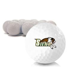 Blank Siena Saints Golf Balls