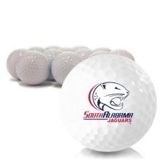Blank South Alabama Jaguars Golf Balls
