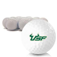 Blank South Florida Bulls Golf Balls