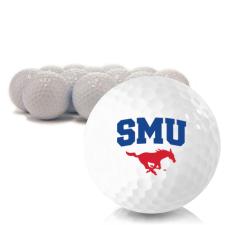 Blank SMU Mustangs Golf Balls
