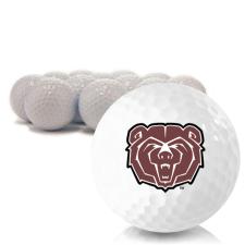 Blank Southwest Missouri State Bears Golf Balls