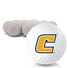 Blank Tennessee Chattanooga Mocs Golf Balls