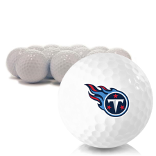 Blank Tennessee Titans Golf Balls