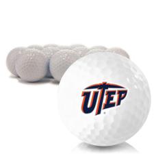 Blank Texas El Paso Miners Golf Balls