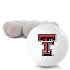 Blank Texas Tech Red Raiders Golf Balls