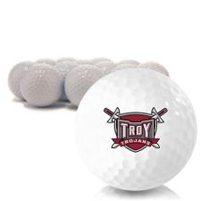 Blank Troy Trojans Golf Balls