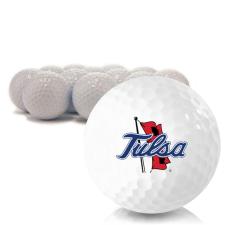 Blank Tulsa Golden Hurricane Golf Balls