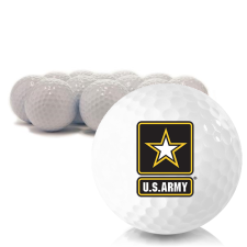 Blank US Army Golf Balls