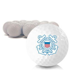 Blank US Coast Guard Golf Balls
