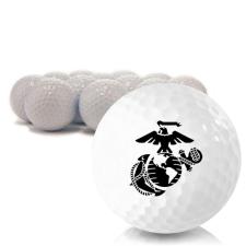 Blank US Marine Corps Golf Balls