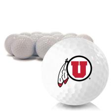 Blank Utah Utes Golf Balls