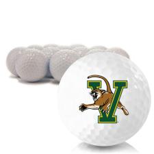Blank Vermont Catamounts Golf Balls
