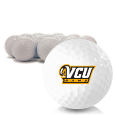 Blank Virginia Commonwealth Rams Golf Balls
