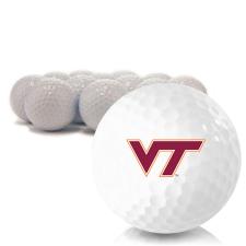 Blank Virginia Tech Hokies Golf Balls