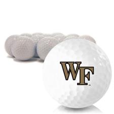 Blank Wake Forest Demon Deacons Golf Balls