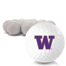 Blank Washington Huskies Golf Balls