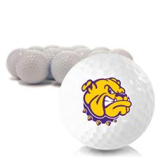 Blank Western Illinois Leathernecks Golf Balls