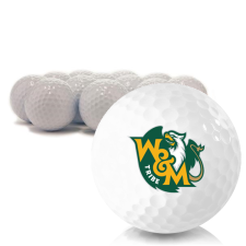 Blank William & Mary Tribe Golf Balls