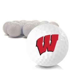 Blank Wisconsin Badgers Golf Balls