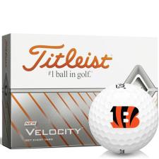 Titleist Velocity Cincinnati Bengals Golf Balls