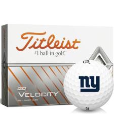 Titleist Velocity New York Giants Golf Balls