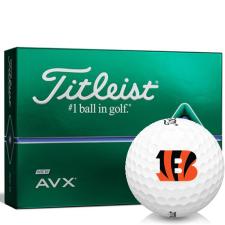 Titleist AVX Cincinnati Bengals Golf Balls