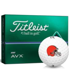 Titleist AVX Cleveland Browns Golf Balls